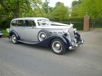 Lot 41-1937 Packard Super Eight Limousine