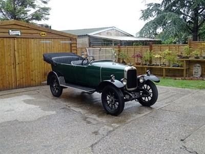 Lot 76-1924 Alvis 12/40 Kirkham Tourer