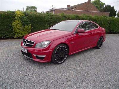 Lot 61-2014 Mercedes-Benz C63 AMG