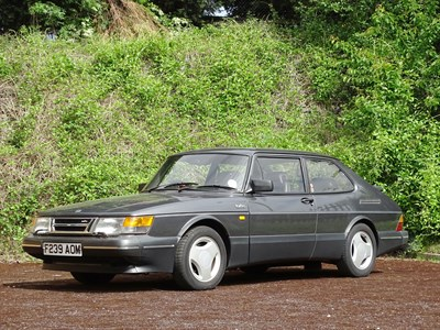 Lot 80-1989 Saab 900 Turbo 16