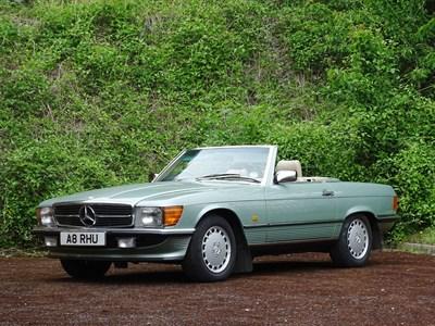 Lot 82-1988 Mercedes-Benz 420 SL
