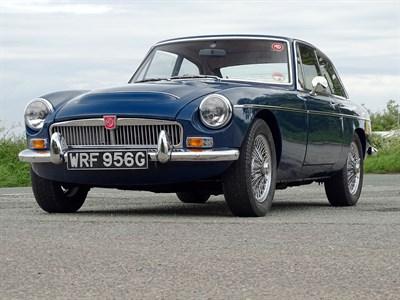 Lot 43-1969 MG C GT
