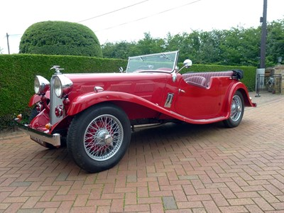 Lot 50-1934 Triumph Gloria Six Speed Model Tourer