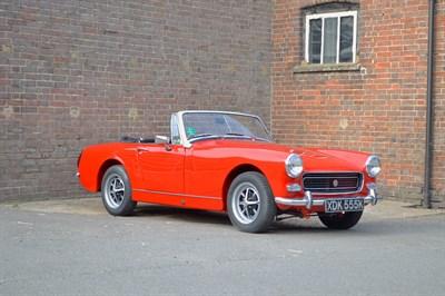 Lot 92-1972 MG Midget 1275