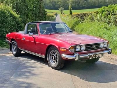 Lot 16-1972 Triumph Stag