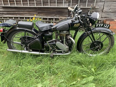 Lot 27-1939 Rudge Ulster