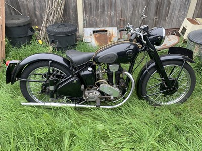 Lot 29-c.1951 BSA-Rudge Special