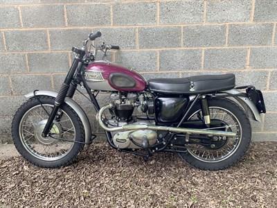 Lot 44-1963 Triumph TR6SC Trophy