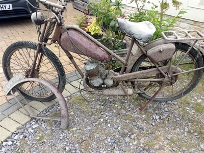 Lot 13-1950s James Superlux Autocycle