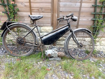Lot 14-1950s Raynal Autocycle