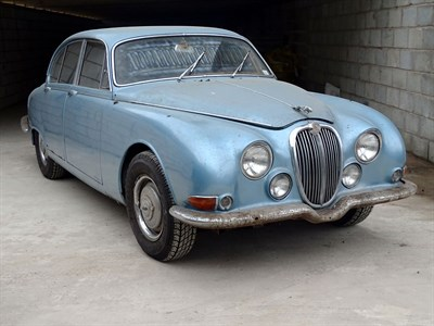 Lot 81 - 1966 Jaguar S-Type 3.4 Litre