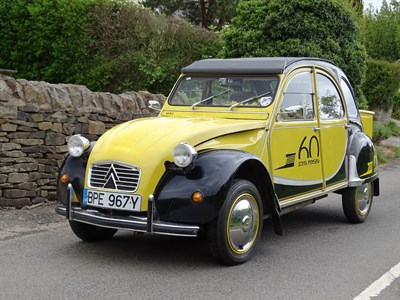 Lot 5 - 1983 Citroen 2CV6 Charleston