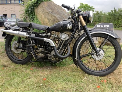 Lot 63-1935 Matchless Model F4