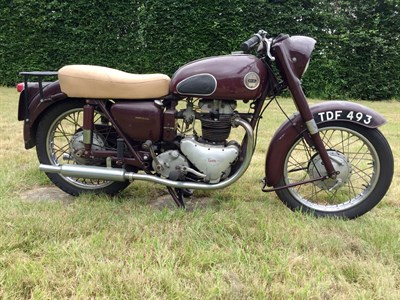 Lot 65-1957 Ariel Huntmaster