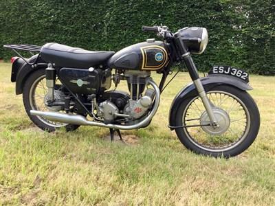 Lot 69-1956 AJS 16MS