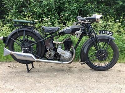 Lot 71-1928 Ariel Model B
