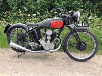 Lot 73-1936 Excelsior Manxman 350