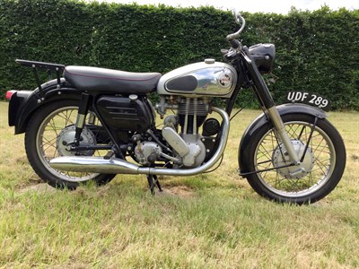 Lot 76-1958 Norton ES2