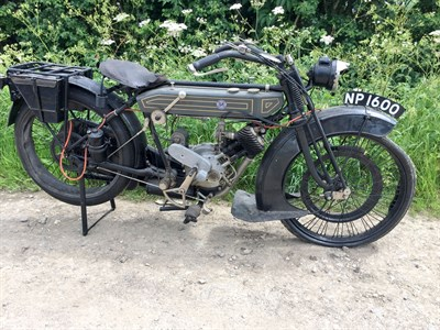 Lot 77-1922 P&M 350cc