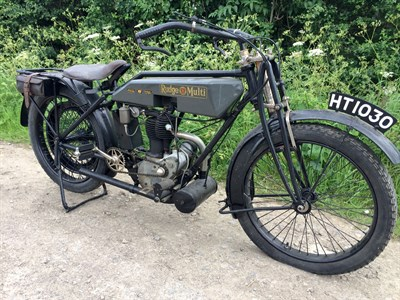 Lot 79-1921 Rudge Multi