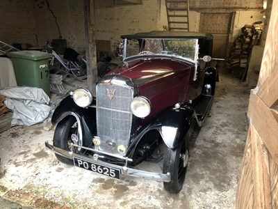 Lot 16 - 1933 Vauxhall DX 14/6 Stratford Tourer