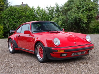 Lot 75 - 1985 Porsche 911 Carrera Supersport