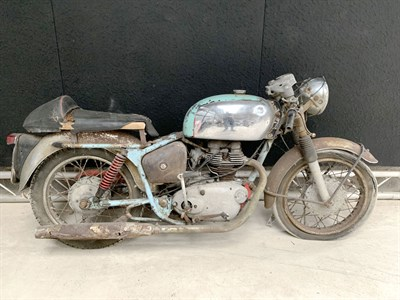 Lot 88-1964 Royal Enfield Clipper Cafe Racer