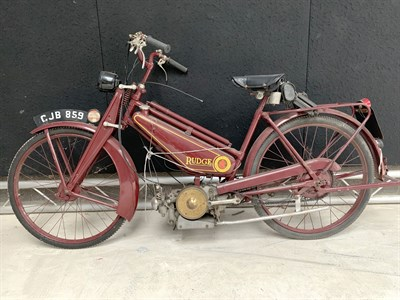 Lot 92-1941 Rudge Autocycle