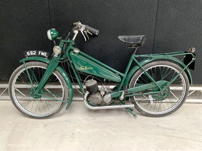 Lot 93-1955 New Hudson Autocycle