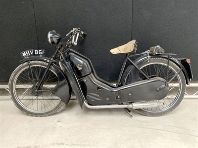 Lot 94-1958 New Hudson Autocycle