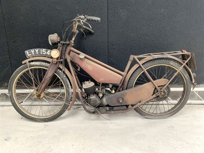 Lot 95-1950 Bown Autocycle