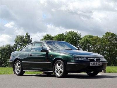 Lot 13 - 1995 Vauxhall Calibra 4x4 Turbo