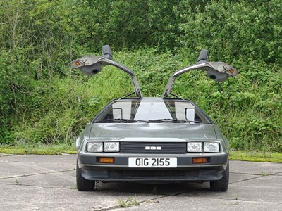 Lot 39 - 1981 De Lorean DMC12