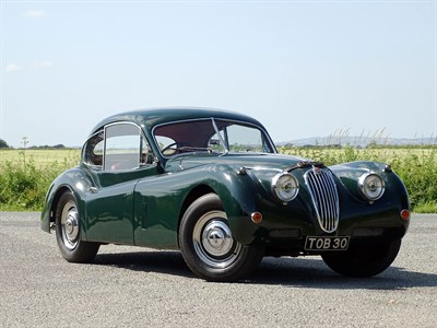 Lot 49 - 1956 Jaguar XK140 Fixed Head Coupe
