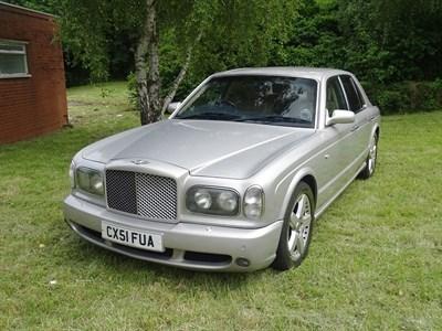 Lot 15 - 2002 Bentley Arnage T