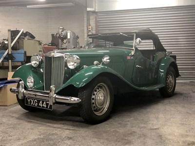 Lot 12 - 1951 MG TD