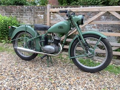 Lot 31-1954 BSA D1 Bantam
