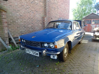 Lot 4 - 1973 Rover 2000 TC