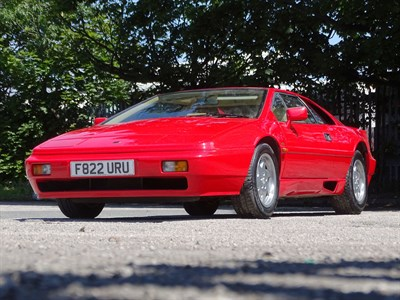 Lot 53 - 1988 Lotus Esprit