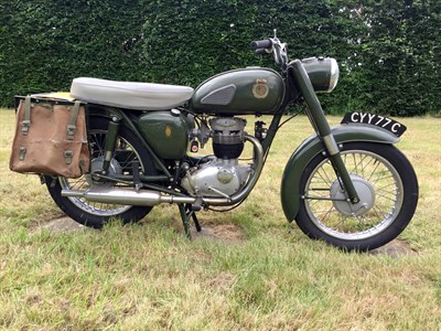 Lot 20-1965 BSA B40 'Civil Defence Corps'