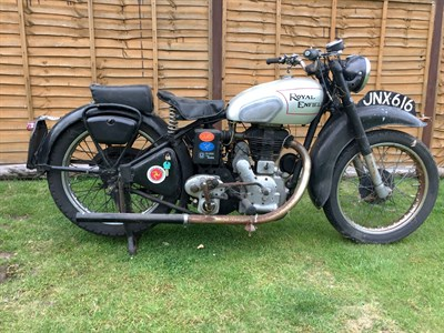 Lot 23-1949 Royal Enfield Model G