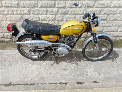 Lot 47-1972 Honda CL100 K2