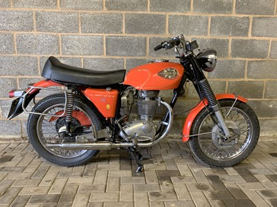 Lot 52-1969 BSA B44 Shooting Star