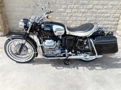 Lot 55-1969 Moto Guzzi California 1000