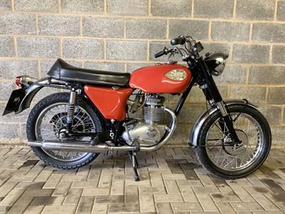 Lot 8-1968 BSA B25 Starfire