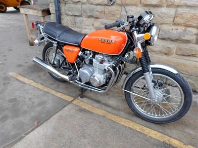 Lot 57-1976 Honda CB550 F2