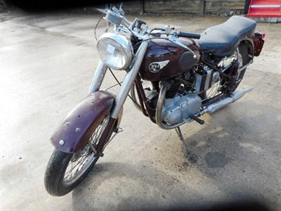 Lot 58-1953 BSA A7