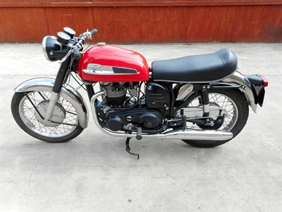 Lot 59-1965 Norton Atlas
