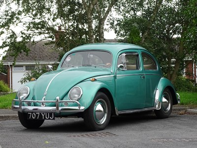 Lot 90 - 1956 Volkswagen Beetle 1200