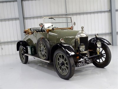 Lot 78 - 1924 Morris Cowley 'Bullnose' Tourer